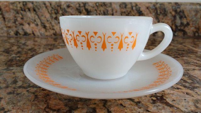 Xícara de cafezinho colorex gravatinha