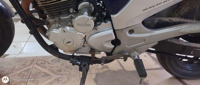 Vendo uma moto fazer 250 azul - Foto 6