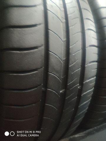 Pneu 205/55-16 Michelin, Bridgestone, Goodyear sem concertos em média 70% de vida útil - Foto 4