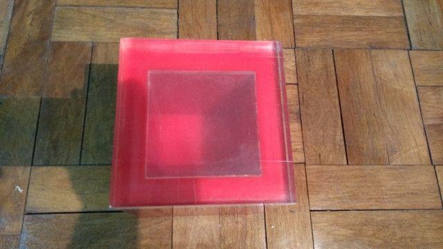Caixa de acrílico - Balde de gelo  - década de 70 - Foto 4