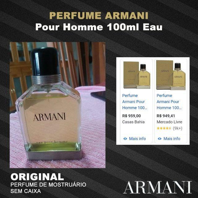 Perfume Armani Pour Homme 100ml Eau - Foto 2