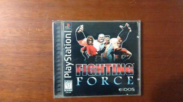 Fighting Force (Raríssimo) Playstation 1 Psone PS1