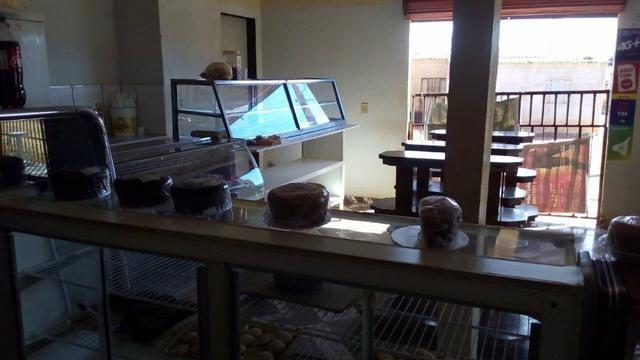 Equipamentos e mobiliário para padaria