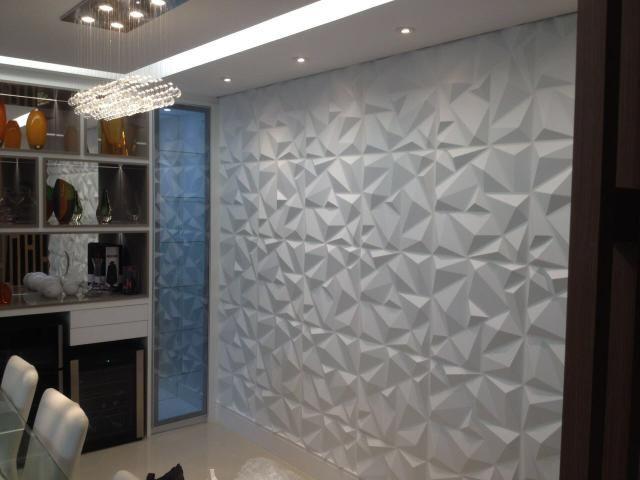 Placa de pvc 3d revestimento de parede servi os for Placas pvc para paredes