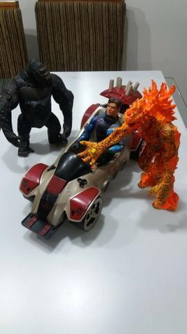 Boneco e monstro maxteel - Foto 2
