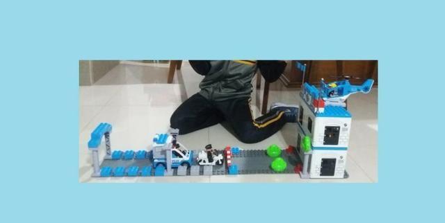 Conjunto de Policia - Blocos de montar - Foto 2