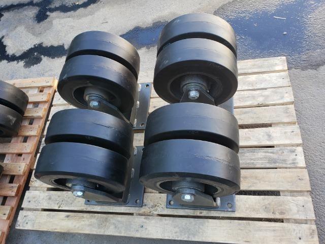 Rodizio giratório para 2.400 kg - Foto 3