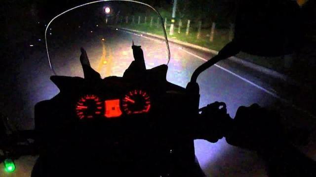 Farol Milha alto baixo sinalizador moto trilha e quadriciclo - Foto 4