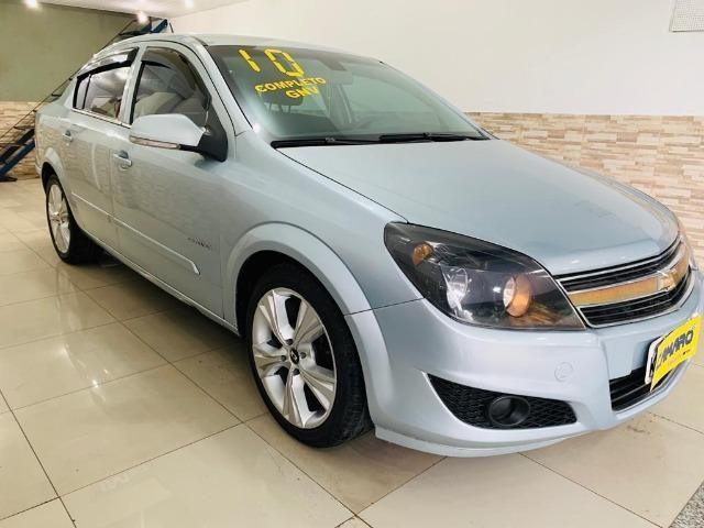 Gm - Chevrolet Vectra sedan 2010 Completo + Couro + Gnv + Dvd