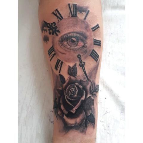 Troco tatuagem por celular - Foto 2