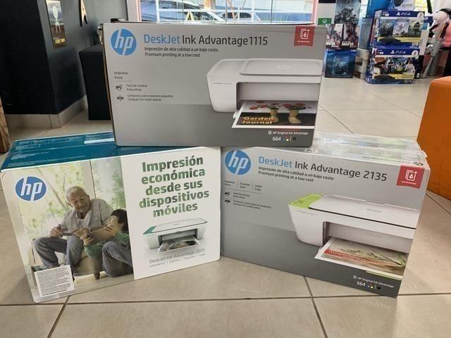 Oferta Impressora HP 1115 Lacrada com 2 Cartuchos, Lacrada ,Pronta Entrega - Foto 2