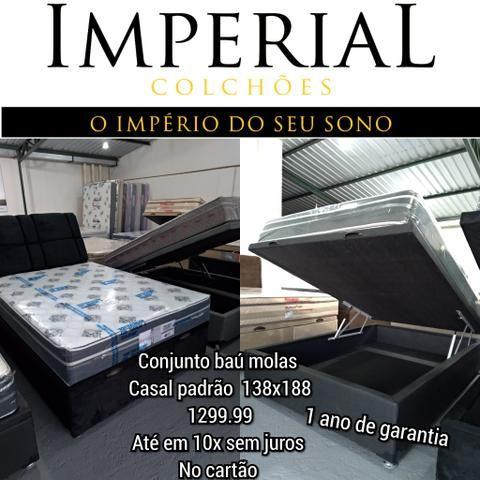 Promoção cama baú primeira direto da fabrica promoção leia o anúncio - Foto 3