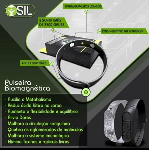 Pulseira magnetica sil - Foto 2