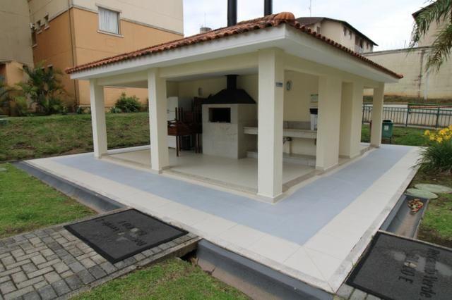 Capão Raso 3 dormitórios churrasqueira a carvão em condomínio Club - Foto 18