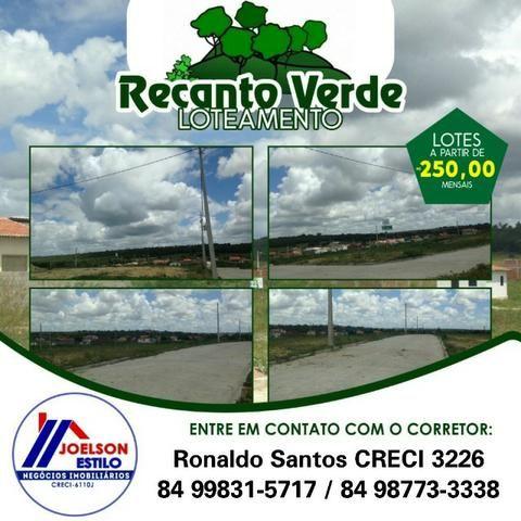 Recanto Verde, BR-304, Parc. A partir 250 reais, Entrada de Macaíba! - Foto 18