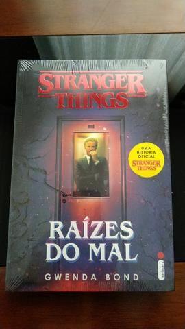 Livro - Stranger Things: Raízes do Mal - Novo, lacrado