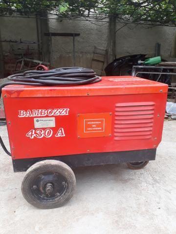Máquina de solda bambozzi 430a trr 2600s - Foto 3