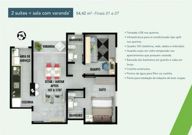 Apartamento 2 dorms no samambaia norte em Samambaia - DF - Foto 18