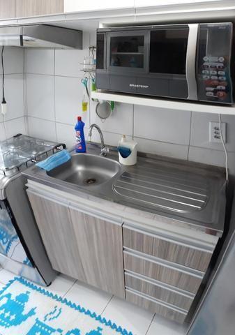 FH - Alugo Apartamento no Condomínio Praias Belas Estrada de Ribamar 2 Banheiros - Foto 3