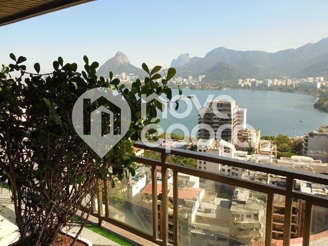 Apartamento à venda com 5 dormitórios em Lagoa, Rio de janeiro cod:LB5AP28814