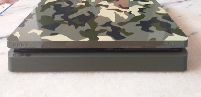 Ps4 Slim 1Tb edição limitada WW2 Camuflado - Foto 4
