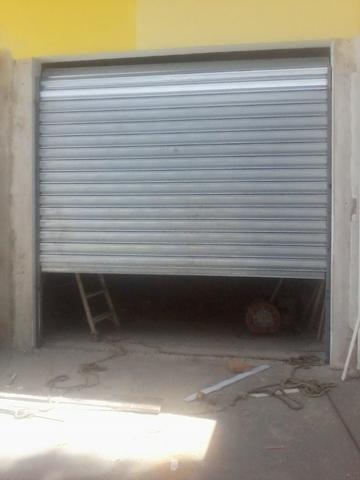 Fabricação de portas de rolo