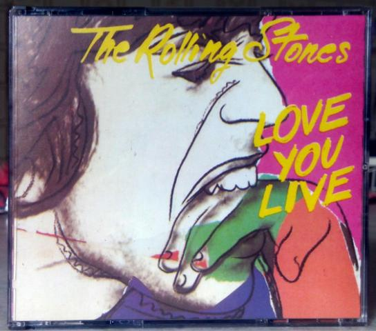 Cd The Rolling Stones - Love You Live (2 Cds)