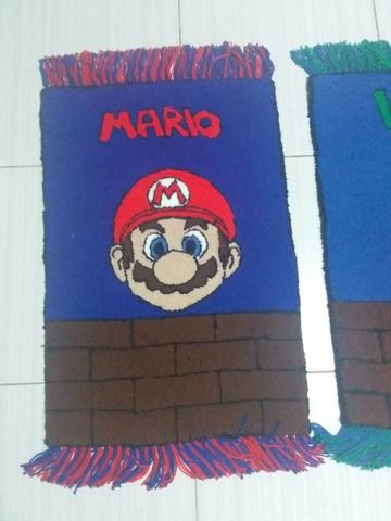 Tapete decoração mangá anime games Mario Bros Luigi Goku Sonic - Foto 4
