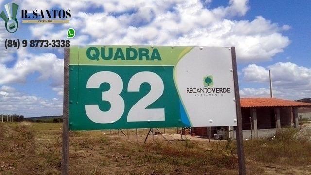 Recanto Verde, BR-304, Parc. A partir 250 reais, Entrada de Macaíba! - Foto 3