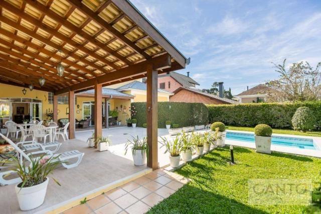 Casa com 5 dormitórios à venda, 439 m² por r$ 2.100.000,00 - santo inácio - curitiba/pr - Foto 3