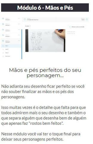 Curso de Desenho Método Fanart 2.0 ( Online ) - Foto 4