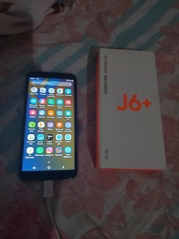 Celular j6 Mas! tenho nota caixa tudo vendo ou troco 6500 Whatsapp * - Foto 2