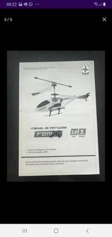 Helicóptero Estrela na caixa com manual - Foto 5