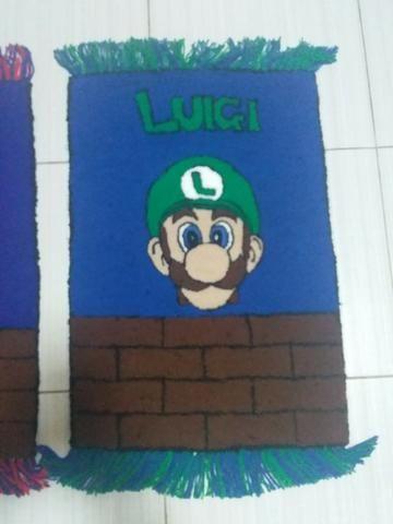 Tapete decoração mangá anime games Mario Bros Luigi Goku Sonic - Foto 6