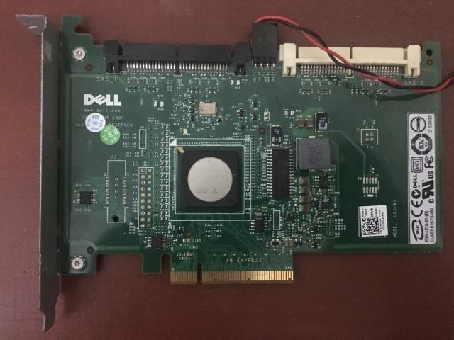 Placa SCSI dell sas 6 Host