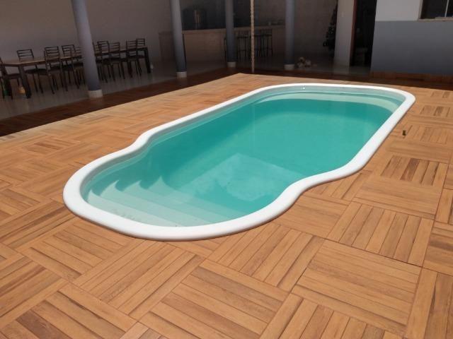 Excelente casa com piscina no bairro valparaiso em patos de minas/mg - Foto 10