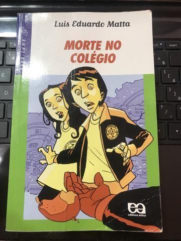 Livro morte no colégio