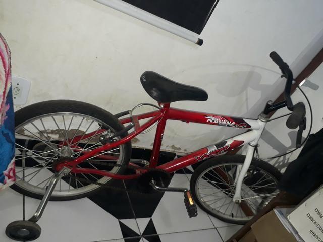 Vendi bicicleta infantil para até 12 anos