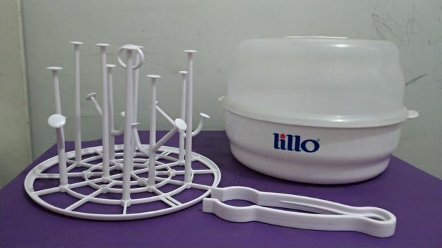 Esterilizador de microondas