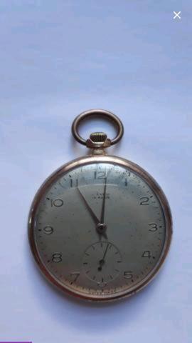 Antigo Relógio de bolso Lanco
