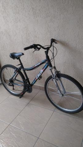 Bicicleta caloi quadro em alumínio