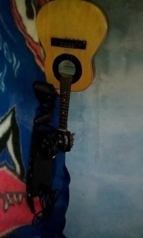 Playstation 2 + cavaquinho giannini semi novo