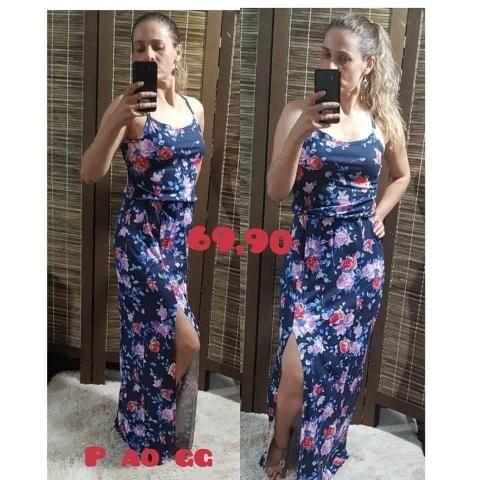 Vestidos de Verão Viscolycra Elisa Leg
