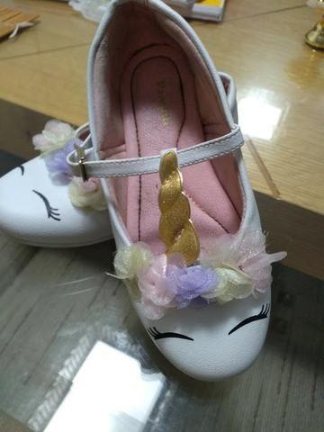 Lote de calçados infantis Menina 26 e 27