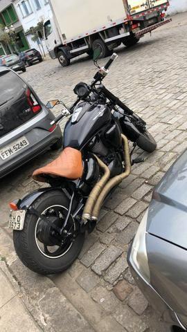 Vendo ou troco boulevard 800 ano 2011 custom está estilo bobber
