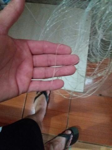 Tarrafa malha 4 dedos