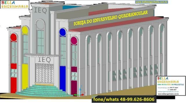 Calculo Estrutural Regularização Edificações Clinicas Geriátricas Casas Repouso Colégio - Foto 2