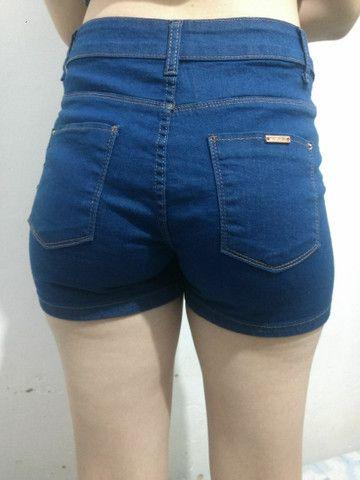 Short Jeans Azul - Foto 3