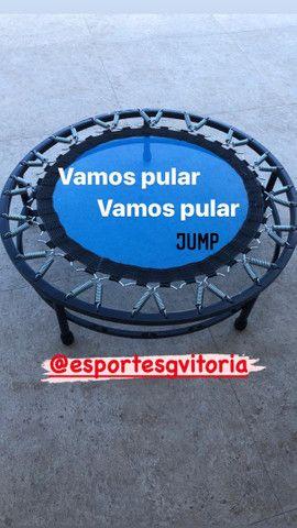 Pilates Ioga musculação anilha haltere luva corda bola barra  - Foto 5