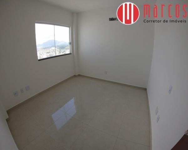 Apartamento para locação 3 quartos, amplo e novíssimo na Praia do Morro. - Foto 14